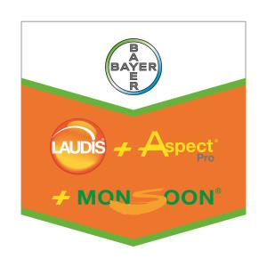 Laudis® + Aspect ® Pro + Monsoon ®